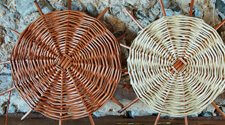 PROGRESSIVE ROUND WILLOW BASKET MAKING
